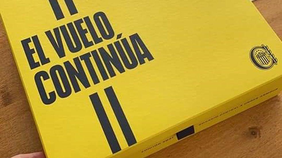 Rosario Central presentó nueva camiseta inspirada en la palomita de Poy