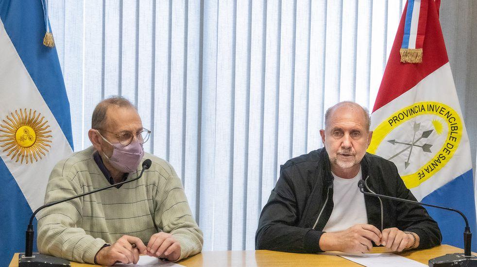 """Perotti anunció """"fase de consolidación"""" de política de seguridad en Santa Fe"""