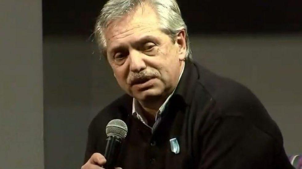 """Alberto Fernández dio su primer discurso de campaña: """"Cristina es el centro político de Argentina"""""""