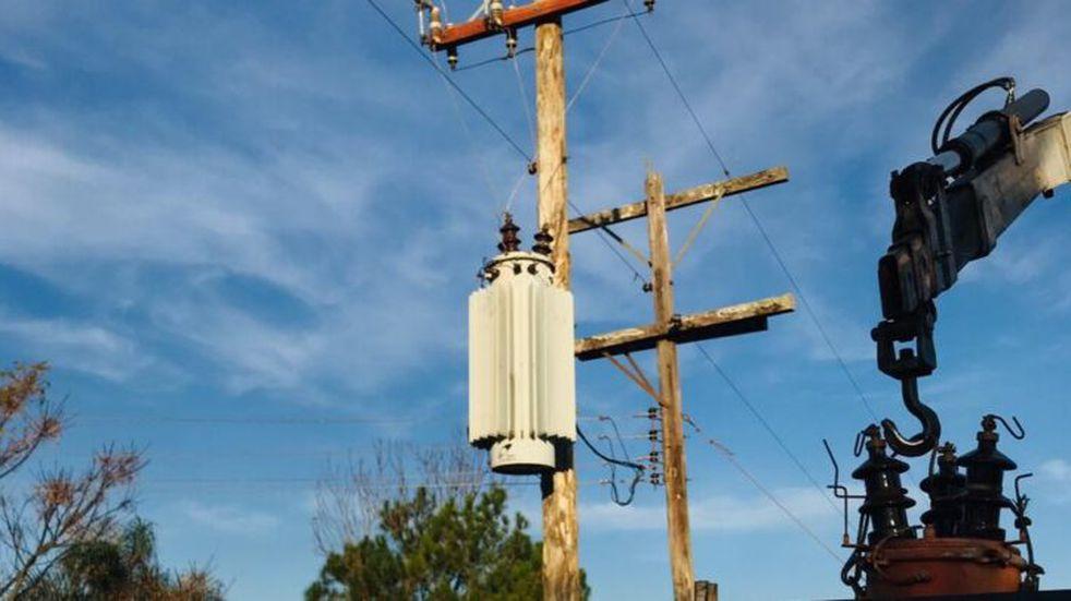 Energía de Misiones realiza trabajos de mejoramiento en Campo Viera y Santo Pipó