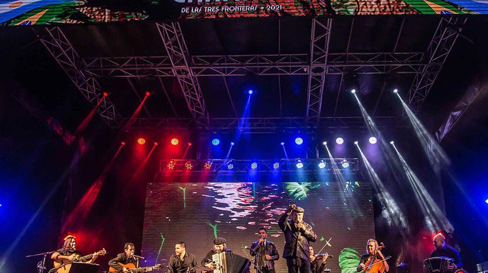 Gran éxito del 1° Festival Internacional del Chamamé de las Tres Fronteras