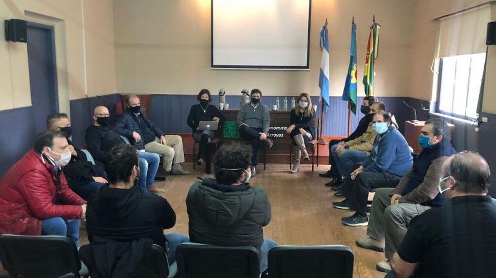 La Cámara Económica de Tres Arroyos se reunió con el sector gastronómico