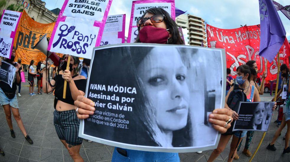 Pedido de justicia: marcharon en Córdoba por el femicidio de Ivana Módica