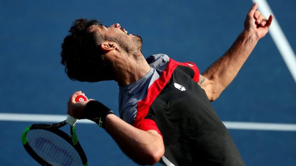 Londero avanzó a segunda ronda del US Open y se enfrenta a Novak Djokovic