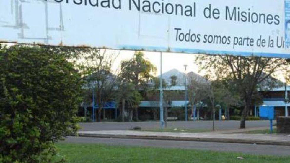 Continuaría de manera virtual las clases en la Universidad Nacional de Misiones durante este año