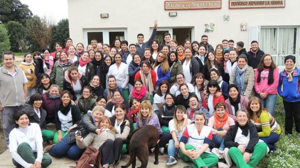 Estudiantes y docentes de enfermería realizaron una Jornada de Salud en Dorila