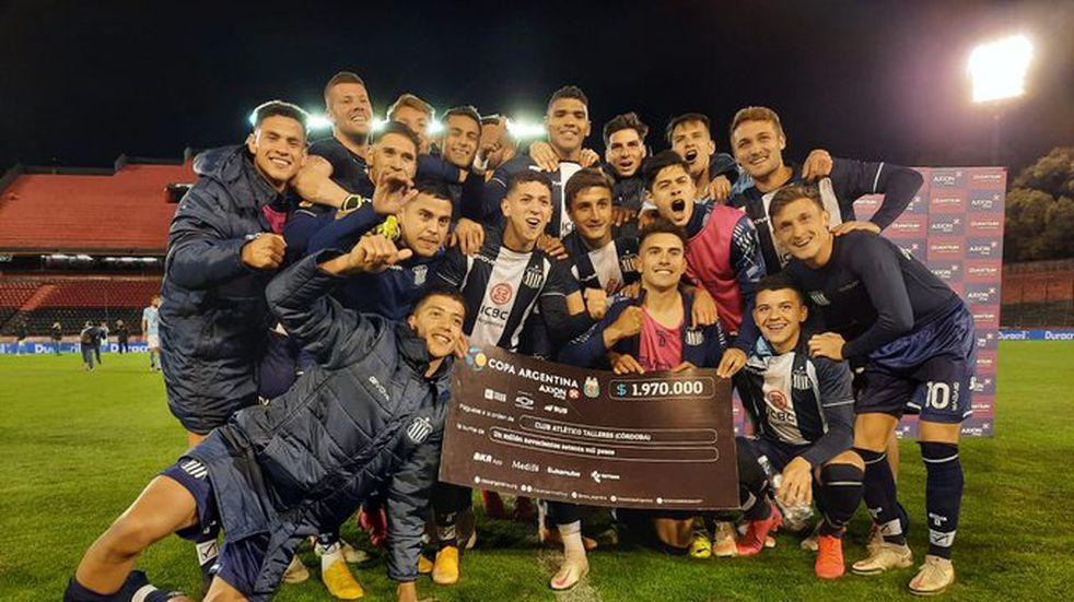 En Rosario, Talleres derrotó por penales a Estudiantes (RC) y clasificó a cuartos de final de Copa Argentina