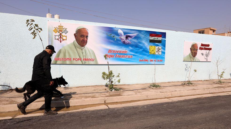 """A pesar del ataque con cohetes, el papa Francisco ratificó que visitará Irak: """"El pueblo nos está esperando"""""""