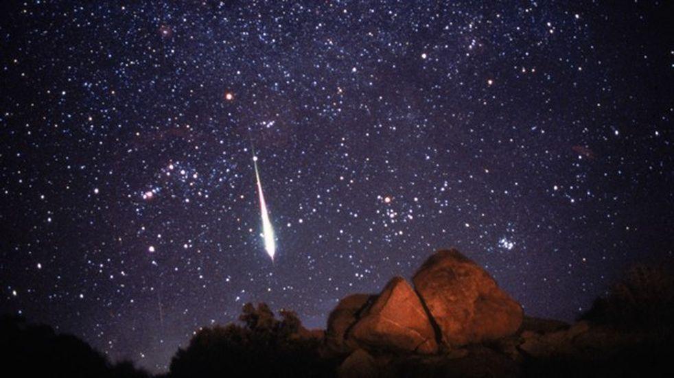 Este jueves se podrá observar en Misiones una lluvia de meteoritos
