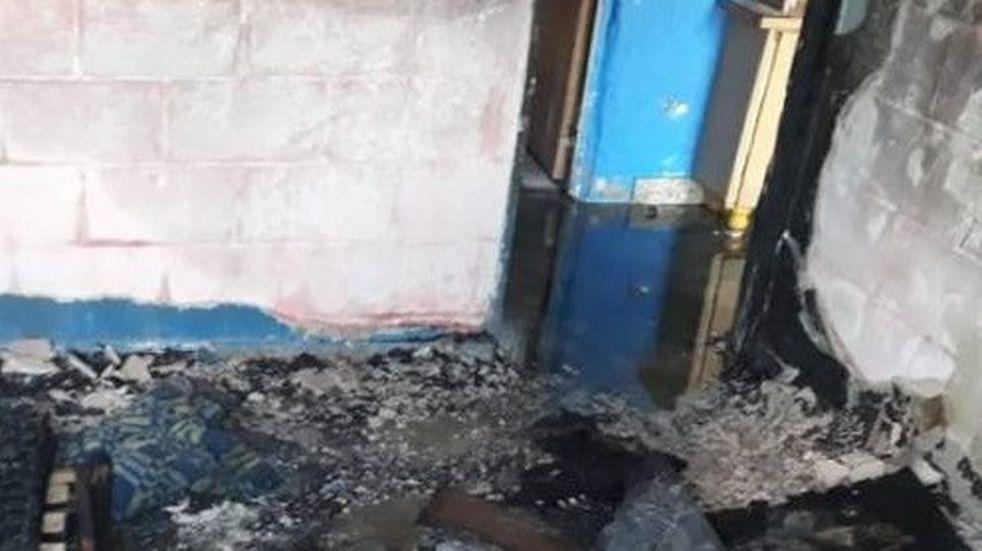 Incendio fatal en Santo Tomé: sospechan de una vela o un desperfecto eléctrico