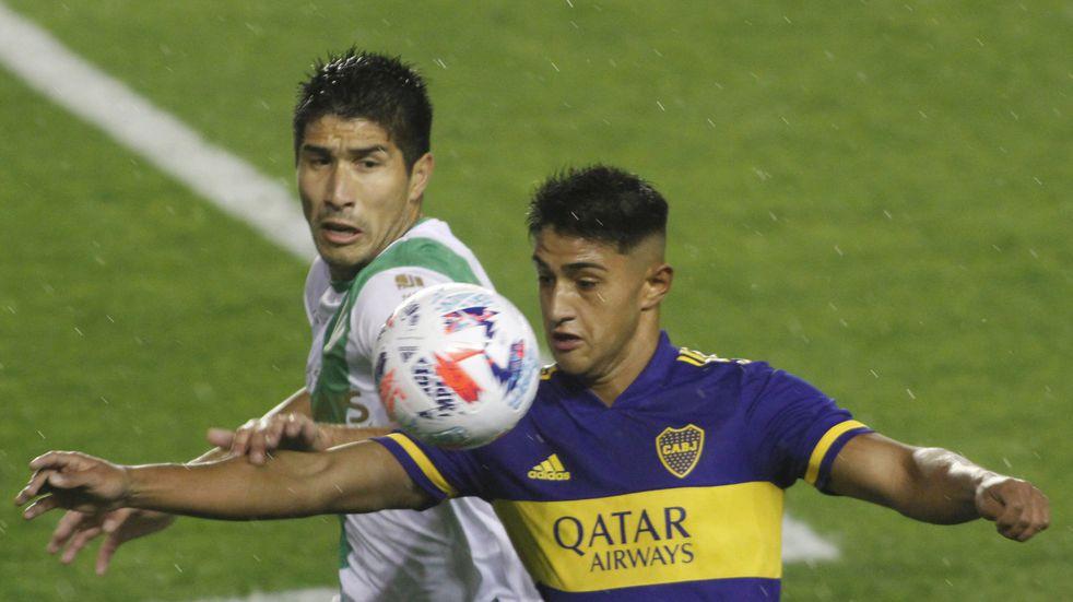 Problemas para Boca: el juvenil Ezequiel Almirón se retiró lesionado ante Banfield