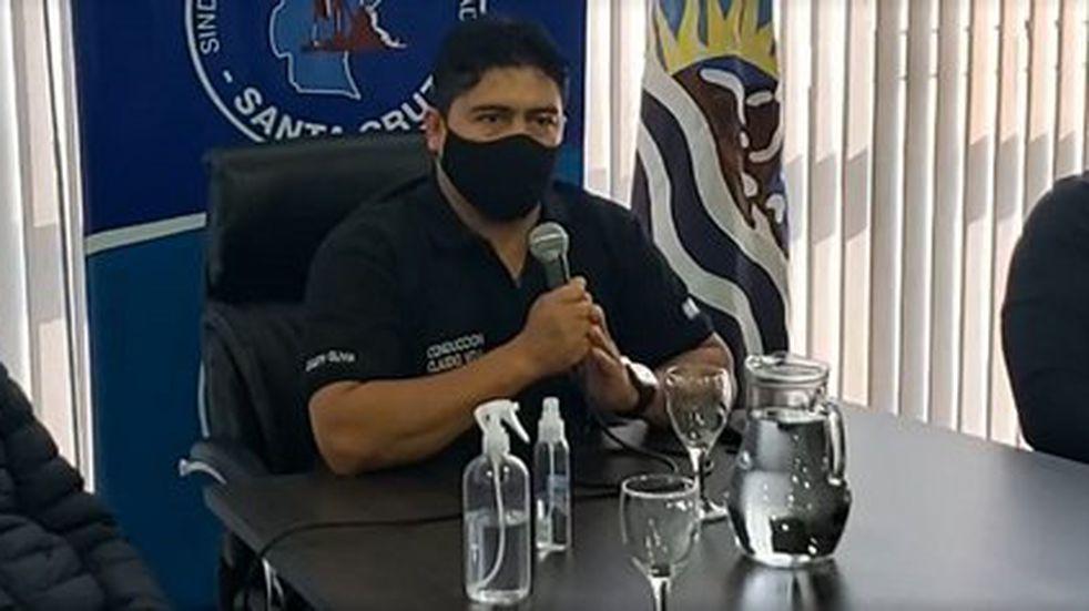 """""""El Gobierno defiende los intereses de Sinopec"""" aseveró Claudio Vidal"""