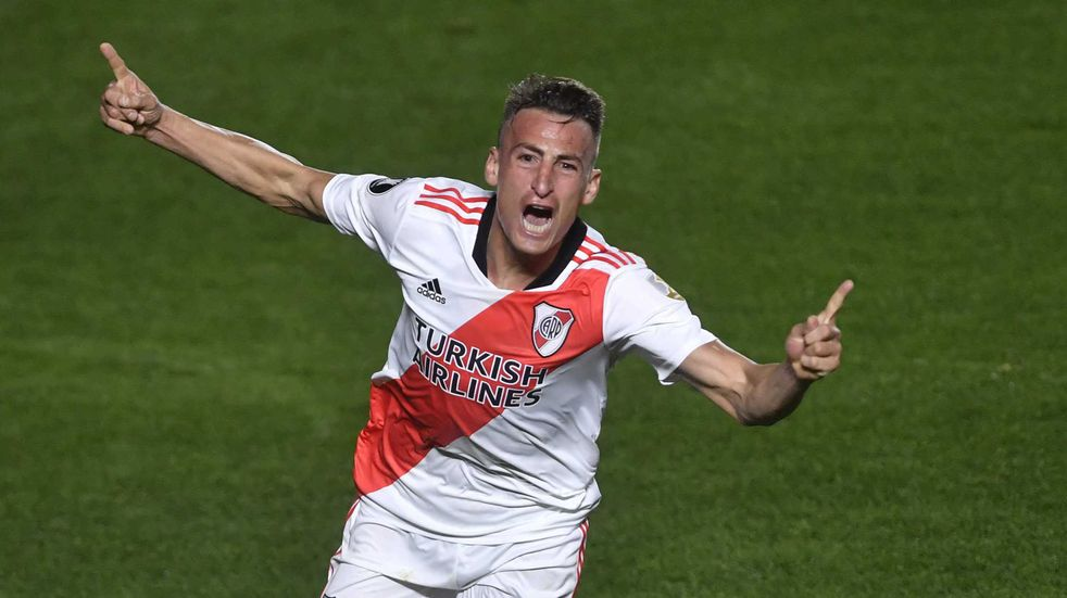 Copa Libertadores: con un doblete de Romero, River le ganó a Argentinos Juniors y firmó el pase a cuartos