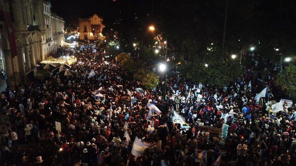 Fue leve el aumento de casos positivos de COVID-19 tras los festejos de la Copa América en Salta