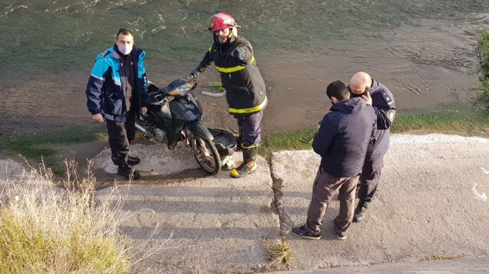 Encontraron a un hombre fallecido en el canal Maldonado
