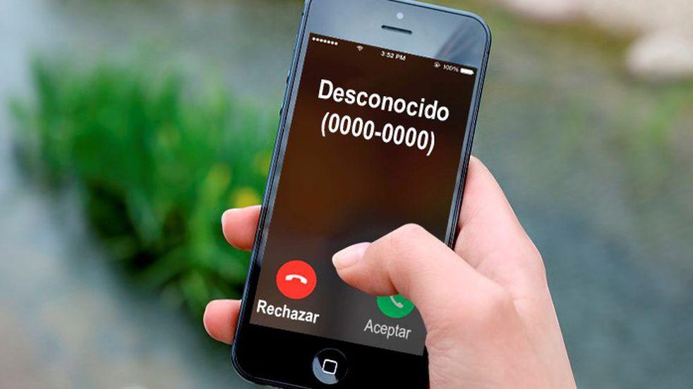 """Cómo detectar quién te llama al celular cuando el número figura como """"desconocido"""""""