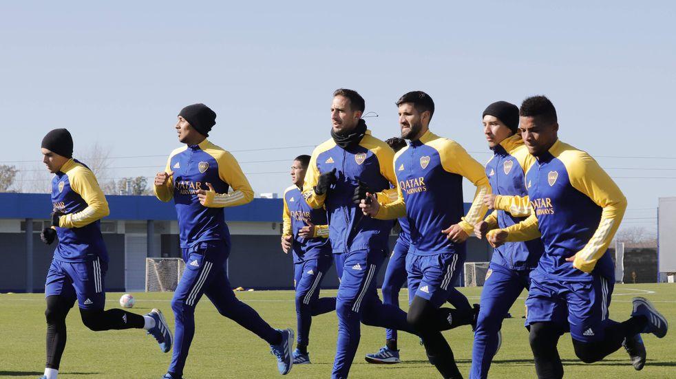 Alivio en Boca: tras el contagio en Reserva, todos los futbolistas de Primera dieron negativo