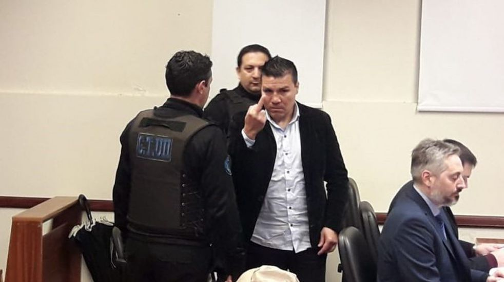 Baldomir amenazó a la prensa antes del inicio del juicio por abuso sexual
