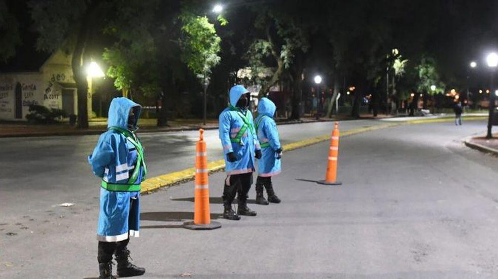 Coronavirus: estricto control policial en el Rosedal para evitar a los runners