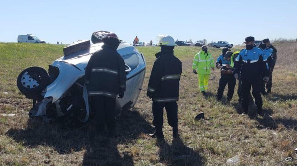 Trágico accidente en la ruta 3: Dos bahienses muertos y un tresarroyense con múltiples heridas