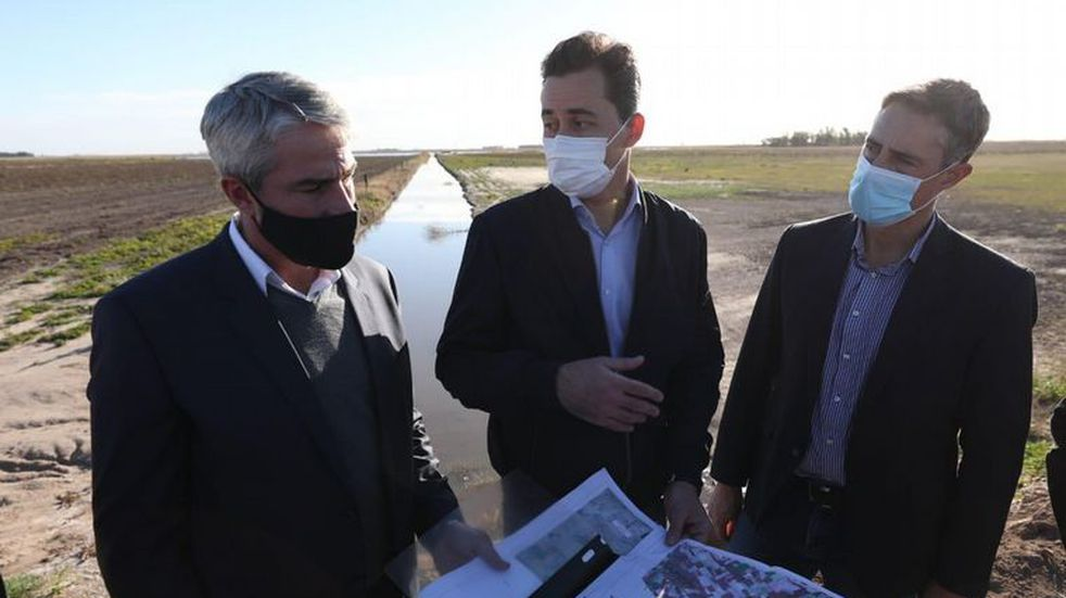 Se inauguraron obras hídricas en tres departamentos de Córdoba