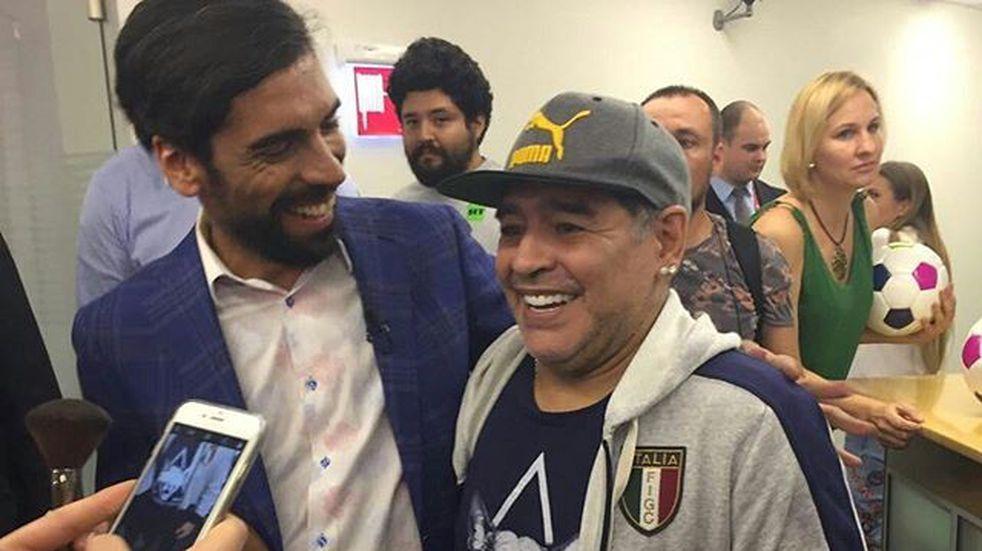 """""""Palito"""" de Maradona para Messi porque no lo invitó a la boda"""