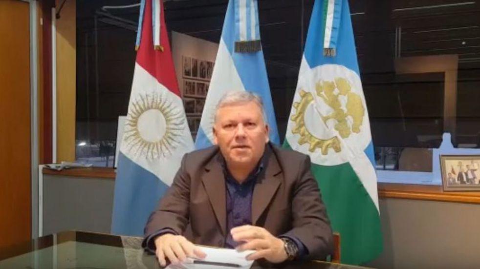 """El intendente de Arroyito Gustavo Benedetti: """"no ha sido un descuido ni un error, no es un caso de circulación en la ciudad"""""""