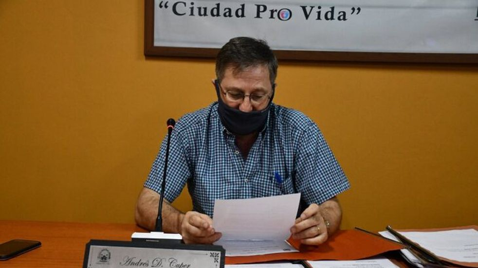 Andrés Cuper será Intendente interino de la ciudad de Wanda