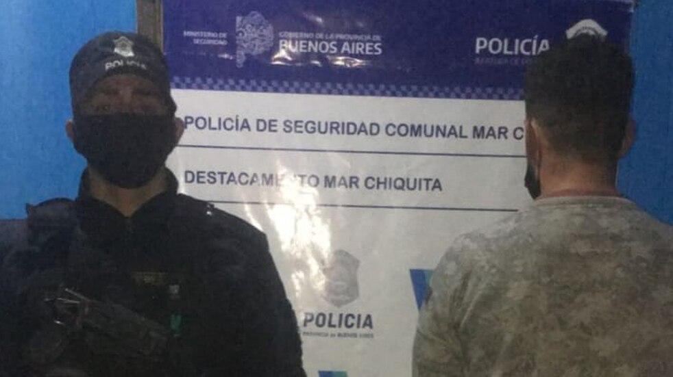 Detienen en Mar Chiquita a un marplatense que tenía un pedido de captura