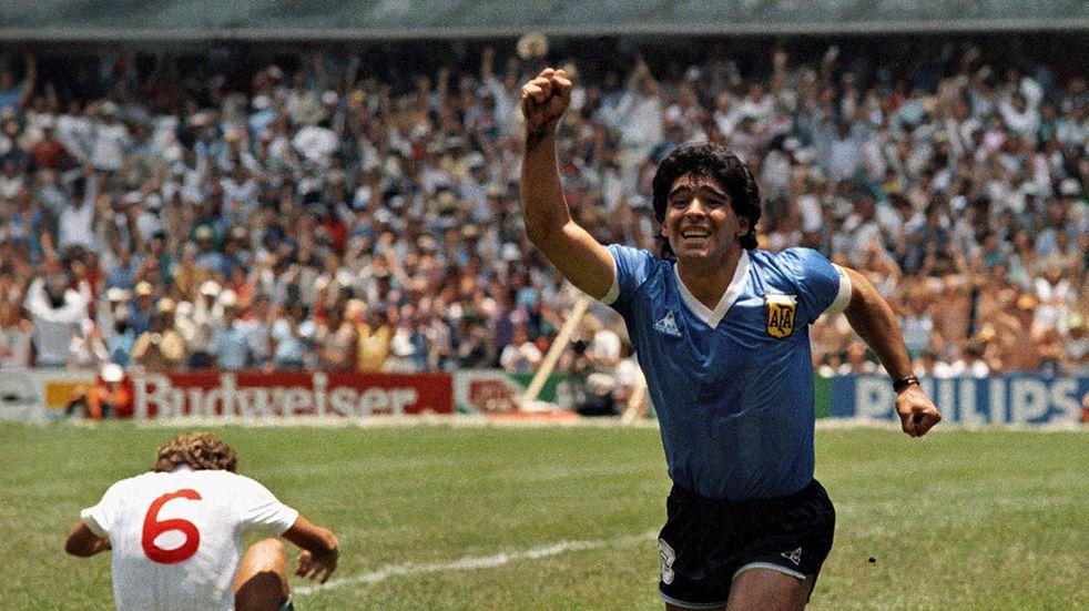 """Diego Maradona contra Inglaterra en México '86: así narraron el """"Gol del Siglo"""" en otros países"""