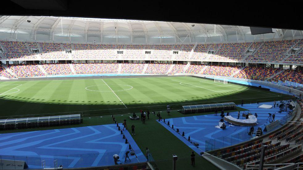 """La Selección Chilena calificó como """"maravilloso"""" al Estadio Único Madre de Ciudades"""