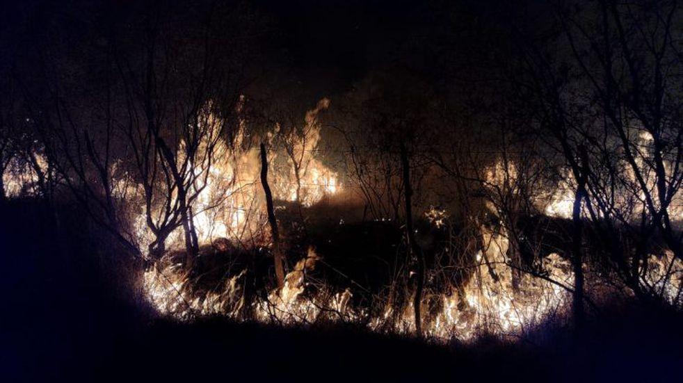 Incendios en el Norte de San Luis