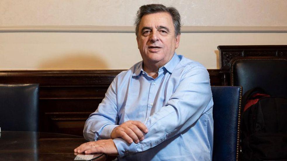 """Mario Negri: """"Como partido no convocamos ni prohibimos a nadie ir a la marcha"""