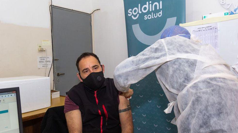 Soldini superó las 3000 dosis aplicadas contra el coronavirus