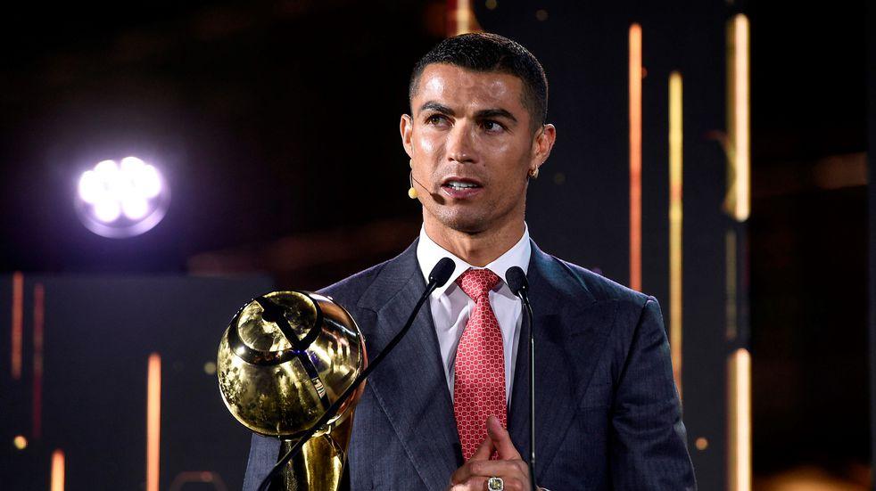 Gala de los Globe Soccer Awards, Dubai. Cristiano Ronaldo: mejor jugador del siglo XXI