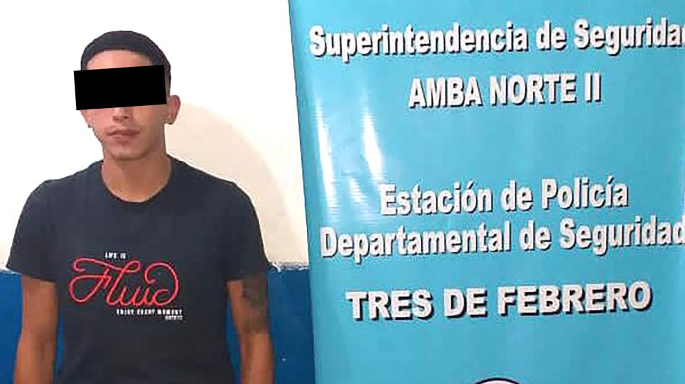 El joven que atropelló al jugador de Chacarita fue detenido por denuncias de robos
