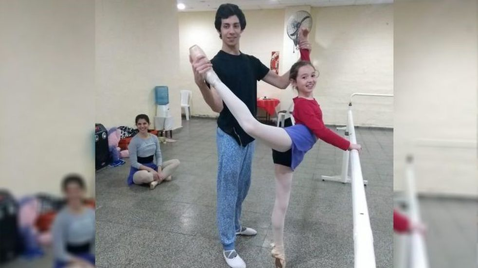 Es de Bell Ville la única niña del interior que ingresó al Ballet del Colón