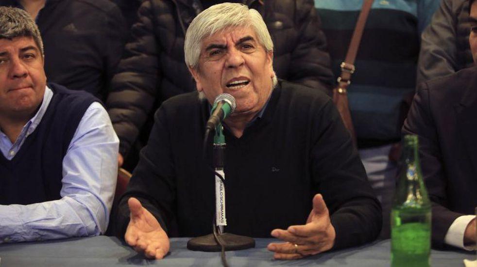 """Moyano, sobre el pedido de ajuste salarial para los recolectores: """"No existe justificación"""""""