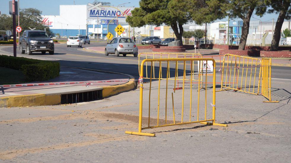 El Municipio continúa con las tareas de mantenimiento en las calles de Arroyito