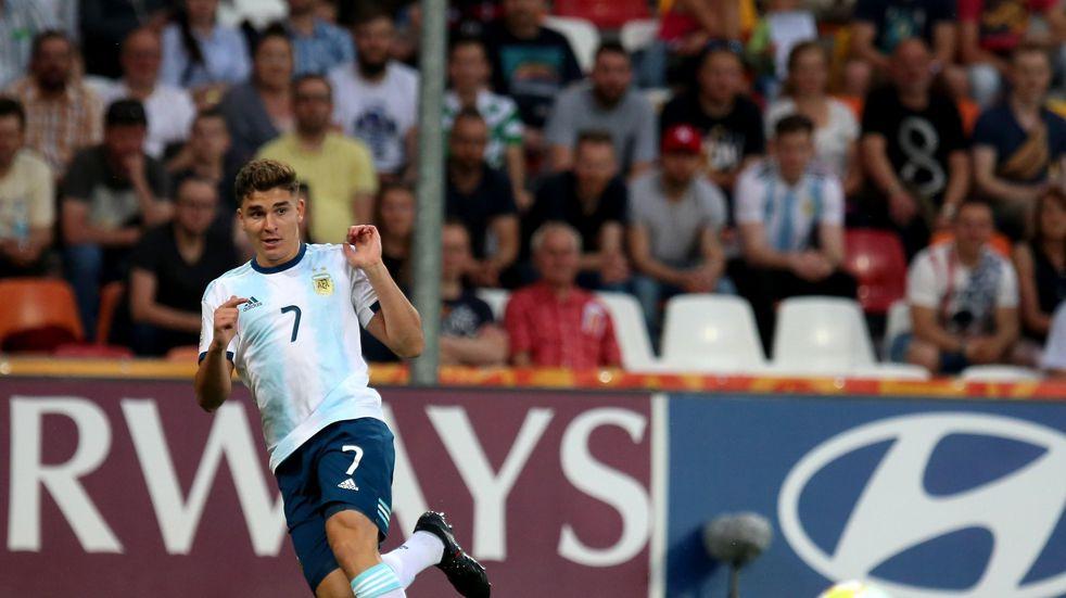 Julián Álvarez fue convocado a la Selección: no hay citados en Boca