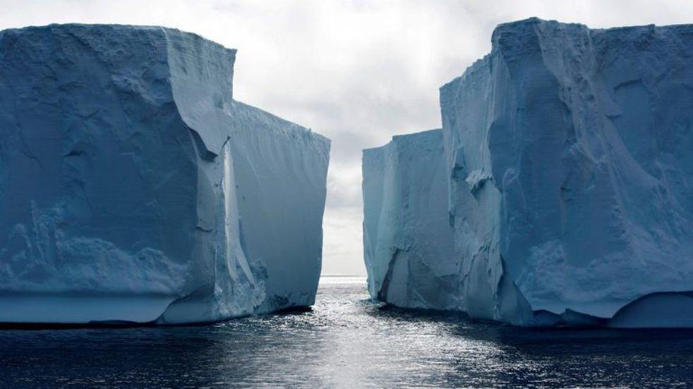 Antártida: las capas de hielo se derriten a velocidad récord