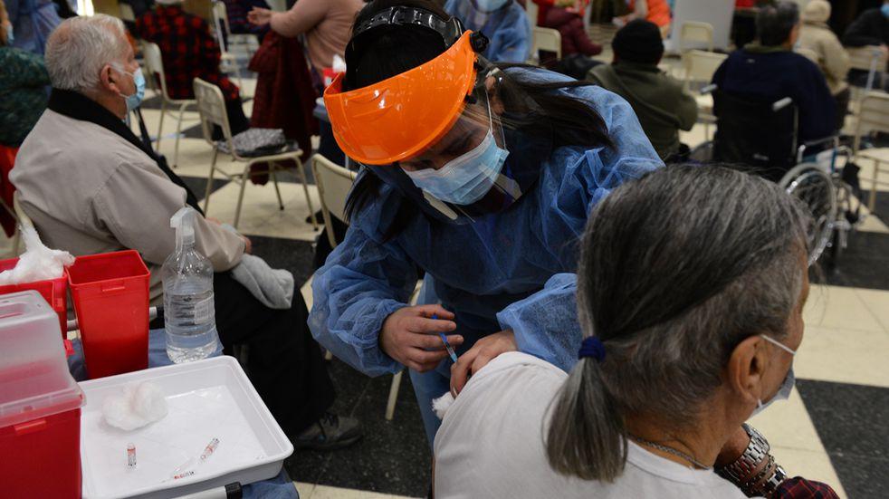 Vacunación. Fotografía: Ramiro Pereyra