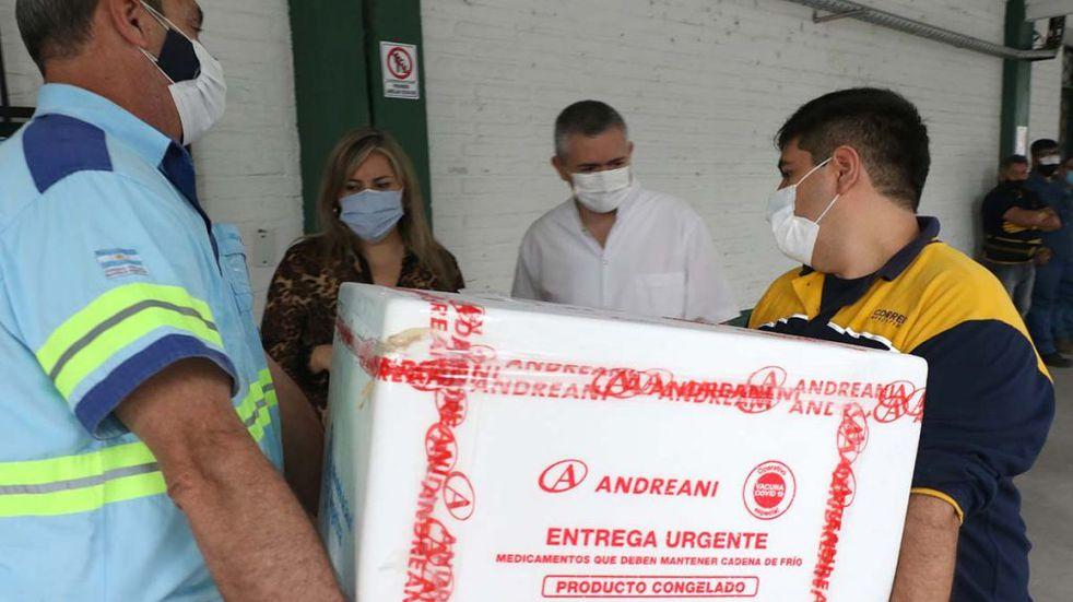Vacunación: Tucumán recibió 69.300 nuevas dosis contra el coronavirus