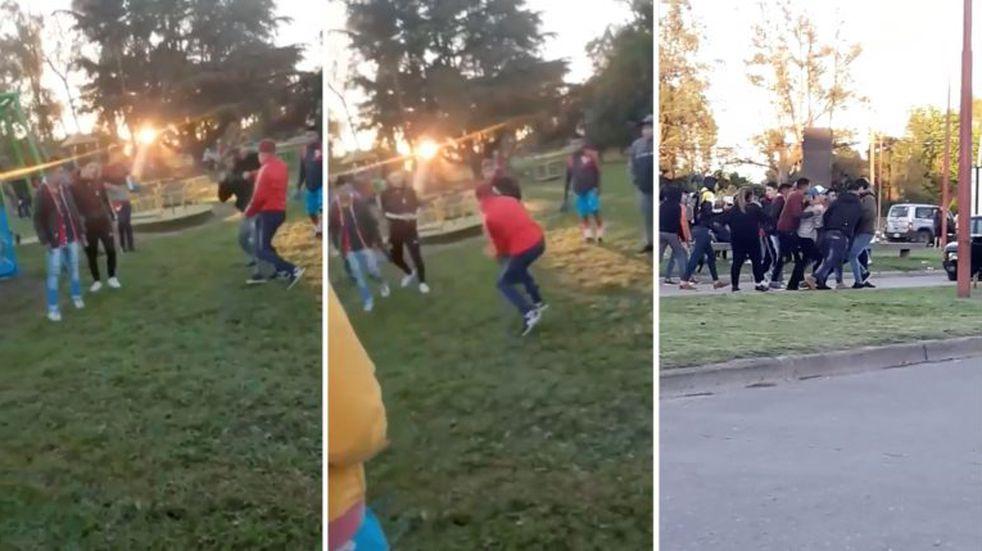 """Ataque en el Balneario: acusan de """"intento de homicidio"""" al joven que acuchilló a dos menores"""
