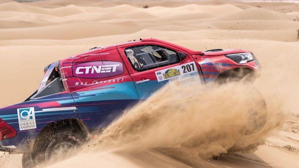 Lucio Álvarez ganó el Rally de Kazajistán 2021