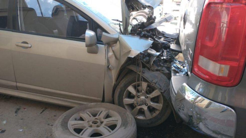 Triple choque y muerte de un profesional de la medicina de Gualeguaychú