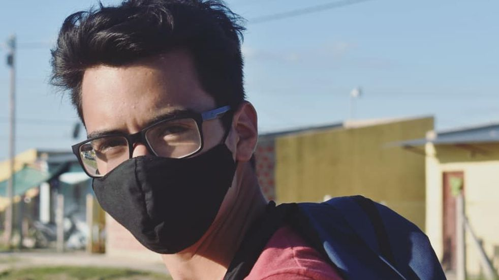 Quién es Agustín Rojas, el influencer de 20 años que fue detenido en las protestas de Formosa