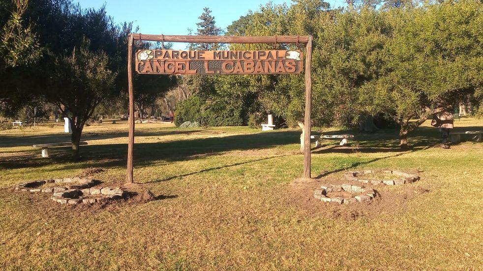 Parque Cabañas, Tres Arroyos