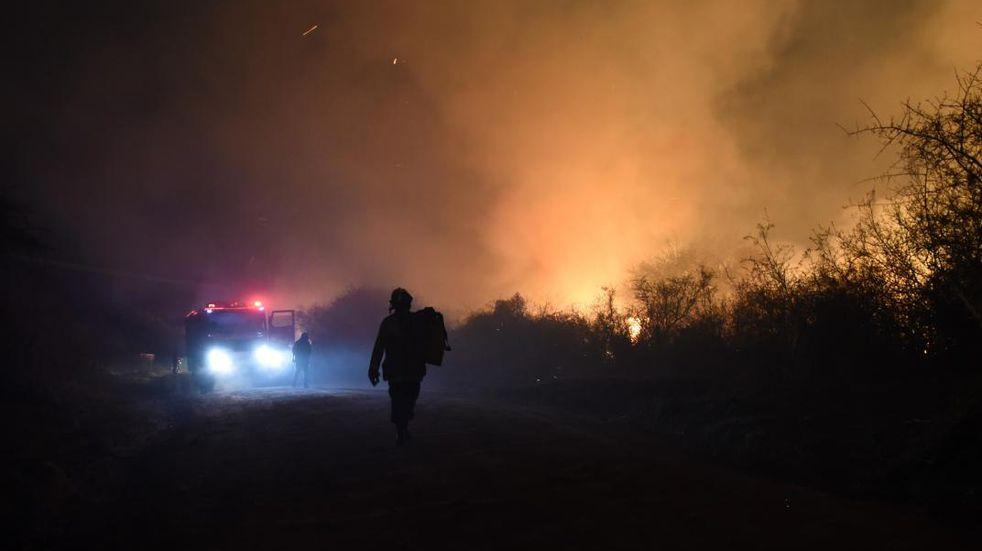 En una semana se produjeron seis Incendios forestales en Pérez
