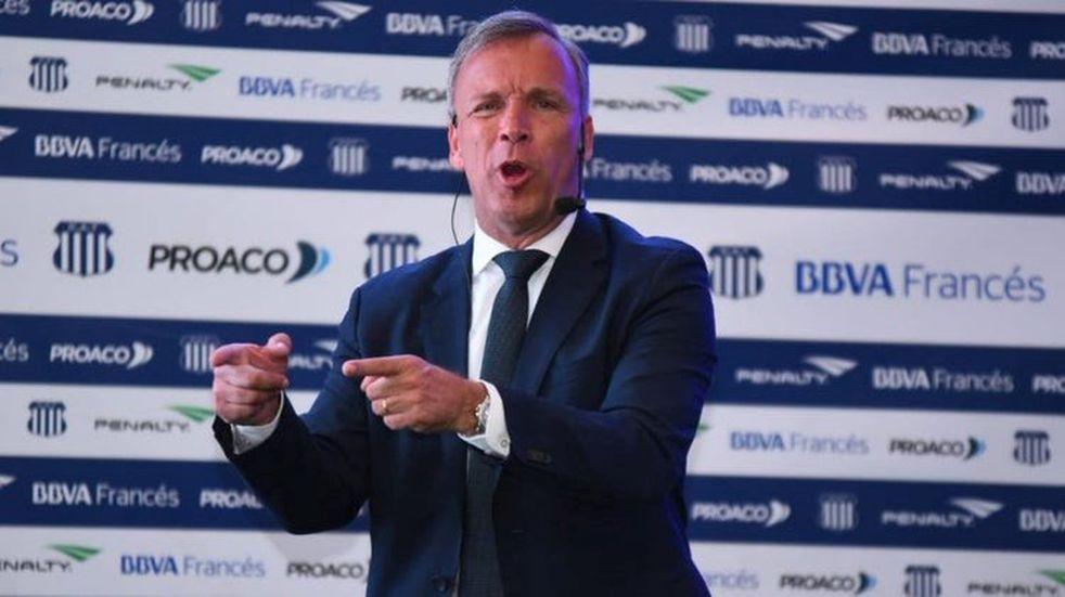"""Andrés Fassi mostró su apoyo a Belgrano: """"Hay que luchar por un fútbol justo"""""""